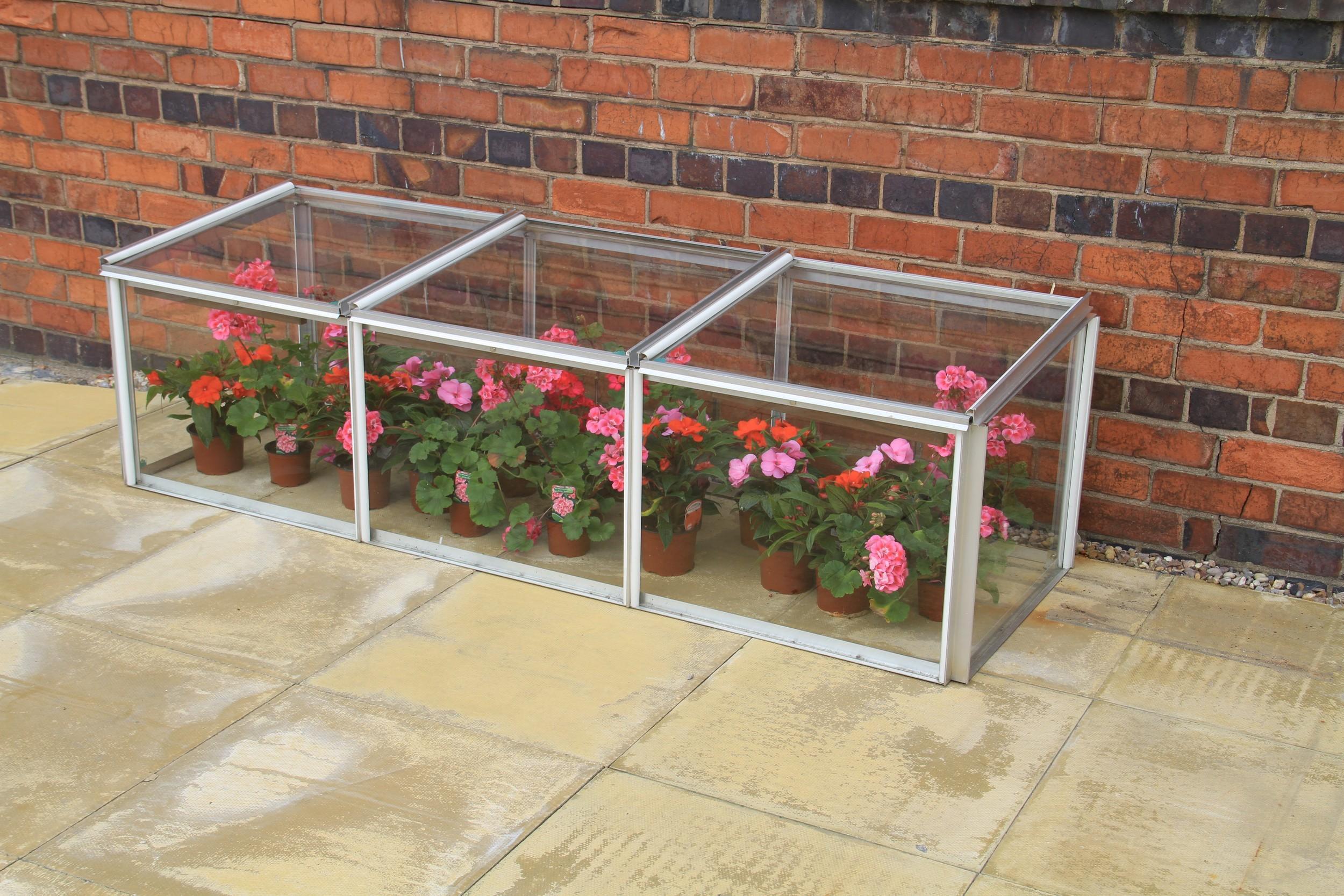 simplicity cold frame 2ftx6ft mini greenhouse toughened. Black Bedroom Furniture Sets. Home Design Ideas