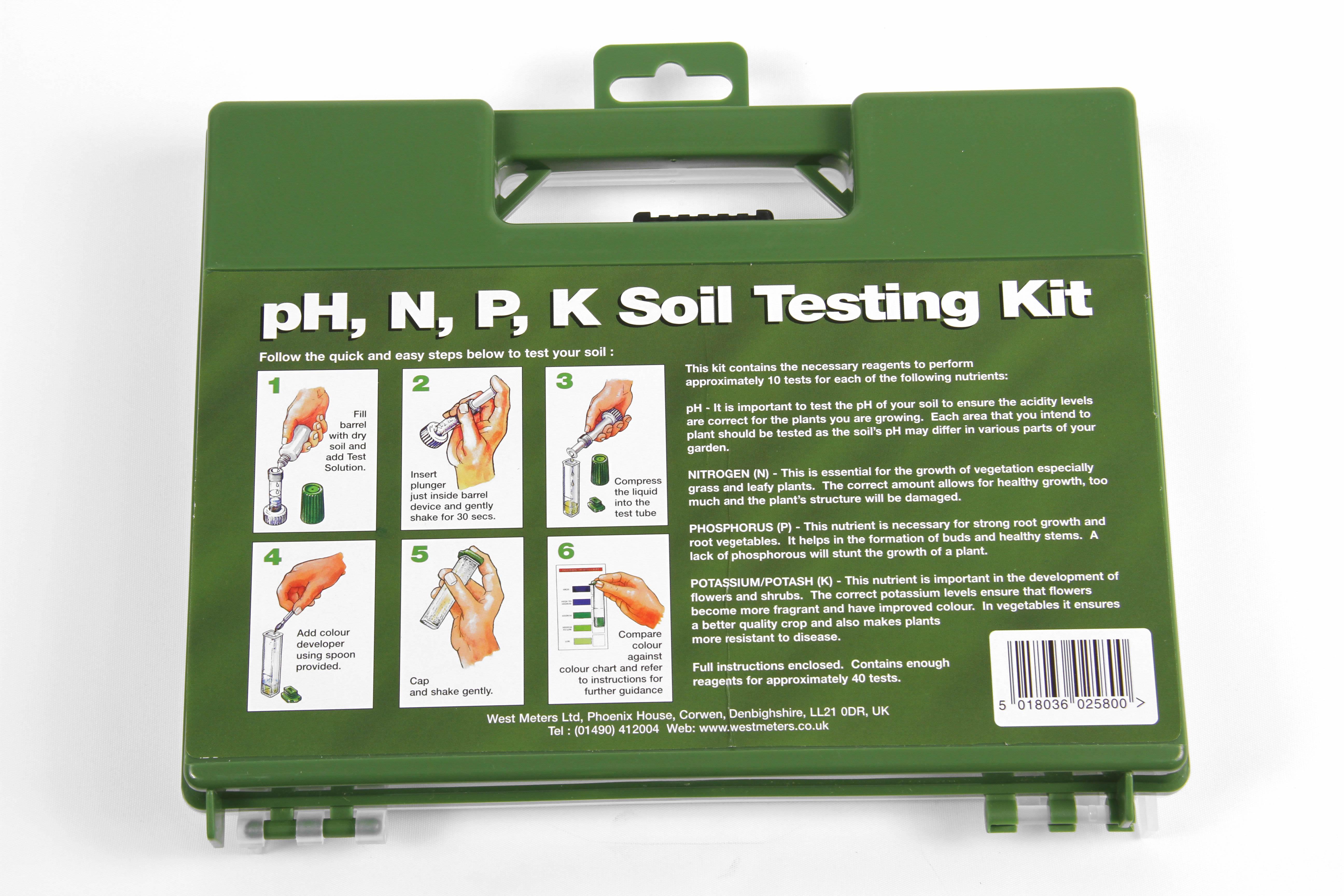 Soil testing kit ebay for Soil nutrient test kit