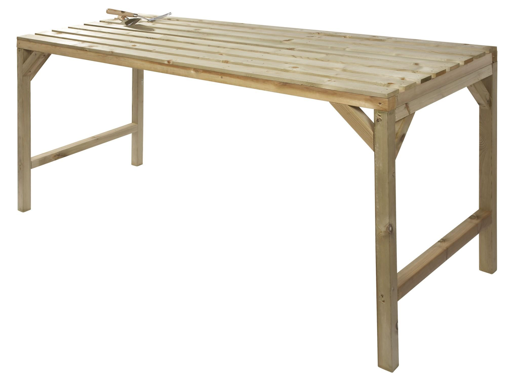 Hercules Wooden Greenhouse Staging Bench 6ft Long X 30 Wide 1785mm X 763mm Ebay