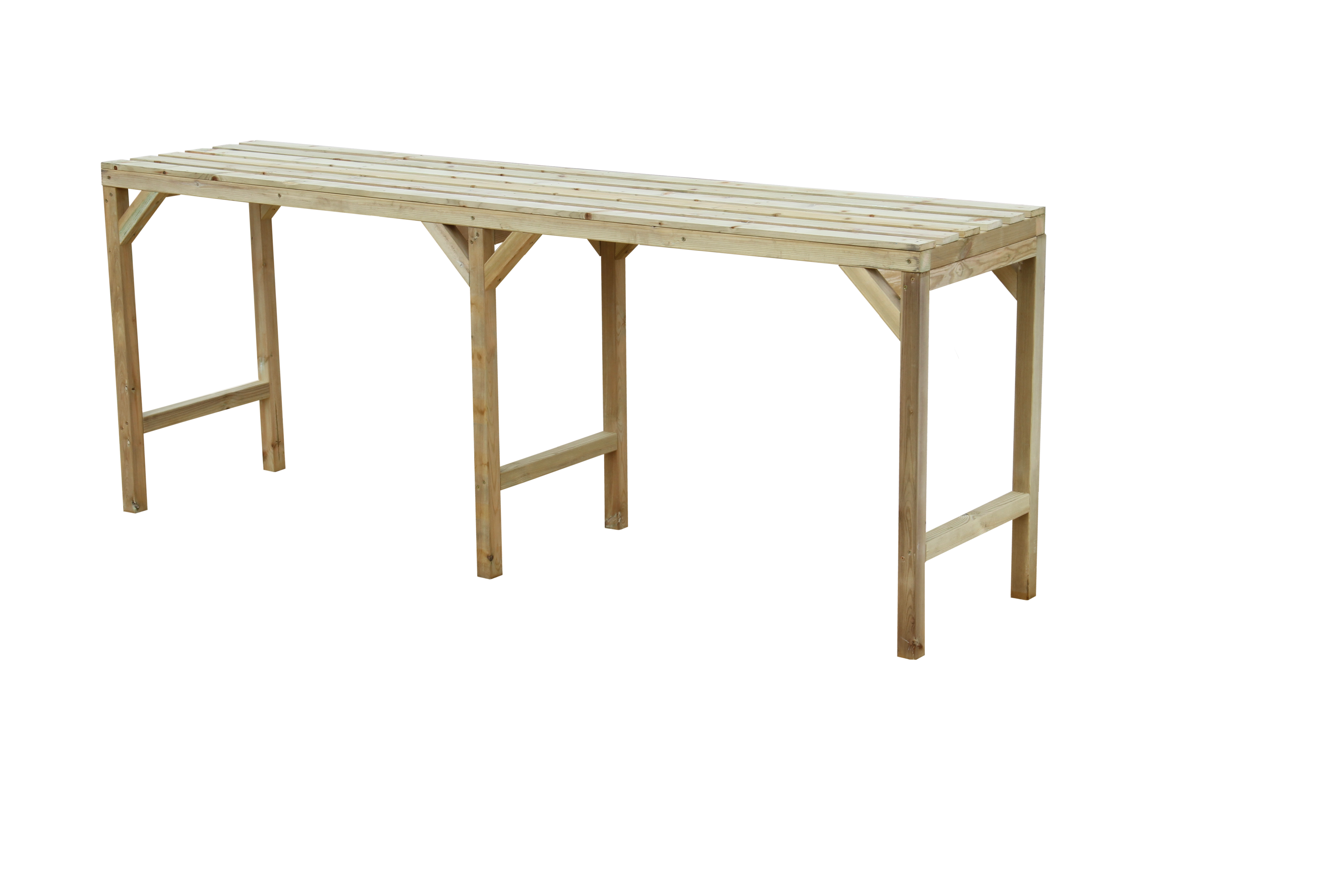 Hercules Greenhouse Staging Bench Wooden 8ft Long X 22 Wide Ebay