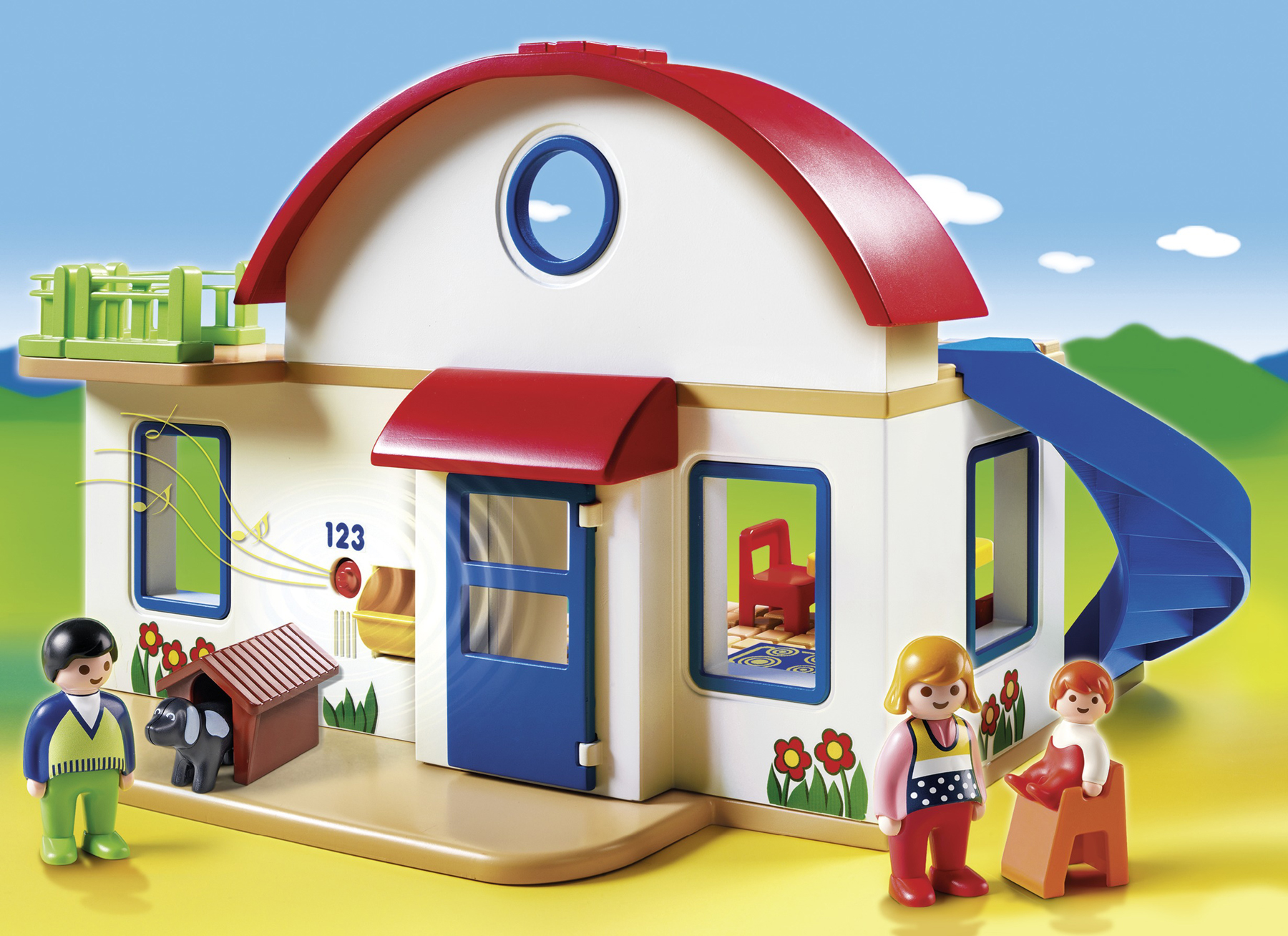 Boys Play Kitchen Set Playmobil 123 Suburban House