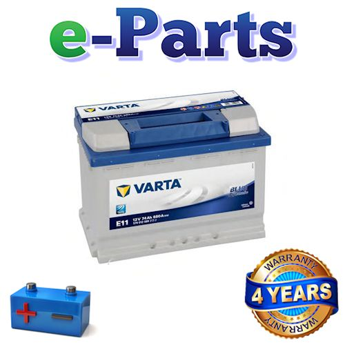 varta blue dynamic e11 uk type 096 car battery 74ah. Black Bedroom Furniture Sets. Home Design Ideas