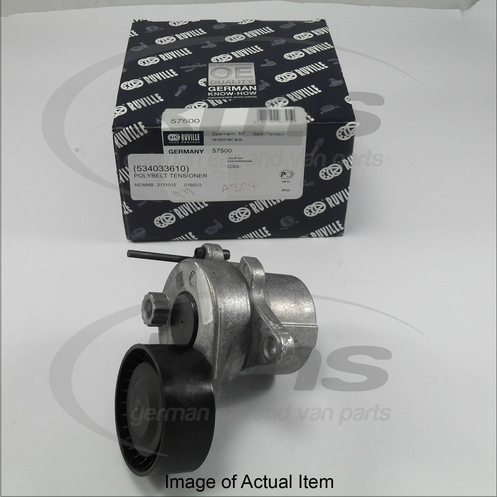 Poly v belt tensioner w212 e220cdi m651 09 mercedes c for Poly v belt for mercedes benz