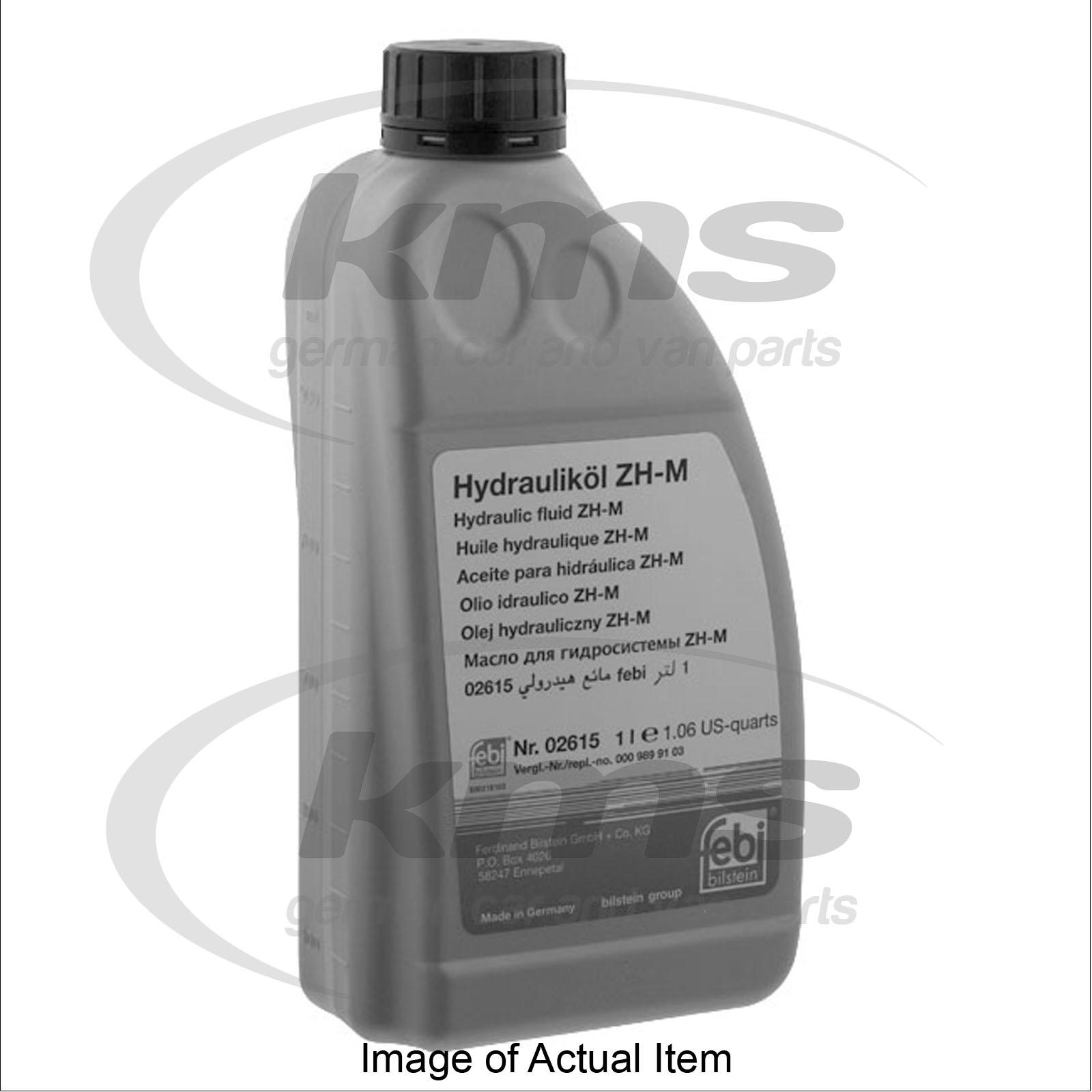 Hydraulic fluid zhm 1 litre mercedes benz 190 series for Mercedes benz hydraulic fluid