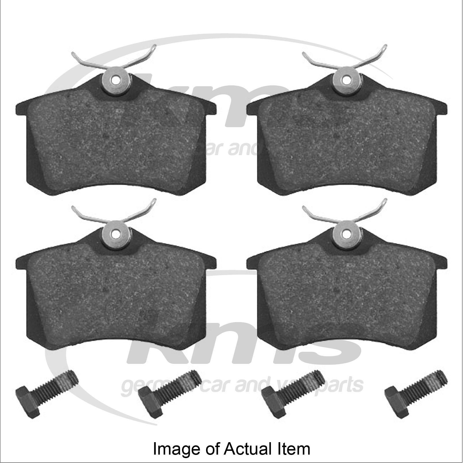 brake pads audi a4 saloon tdi quattro b6 2001 2004 2 5l 180 bhp top german q ebay. Black Bedroom Furniture Sets. Home Design Ideas