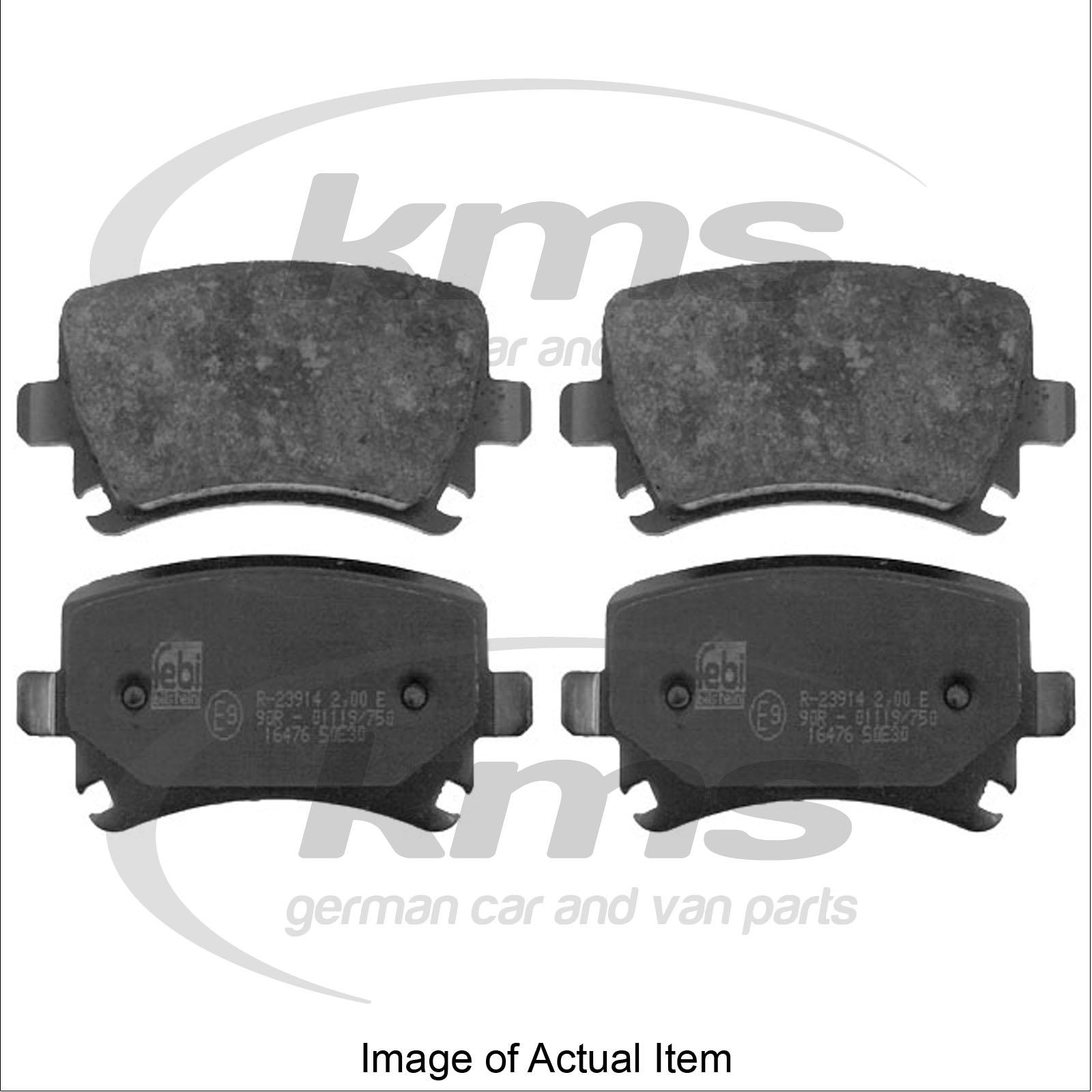 BRAKE PADS Audi A6 Estate Quattro Avant C6 (2004-2012) 2