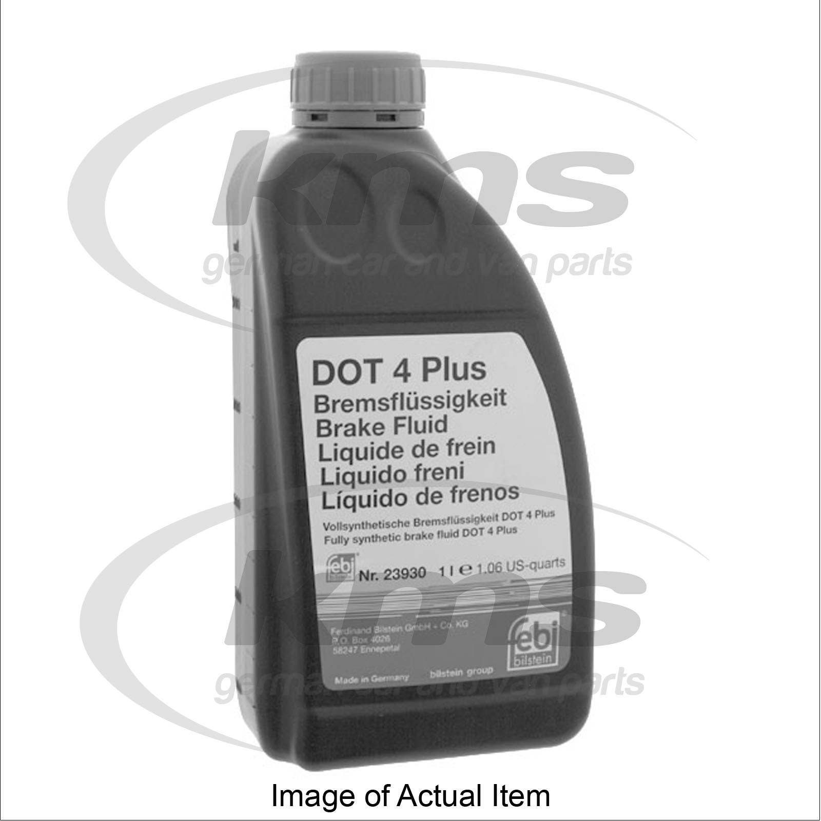 brake fluid dot 4 plus 1 litr skoda fabia estate tdi pd 80