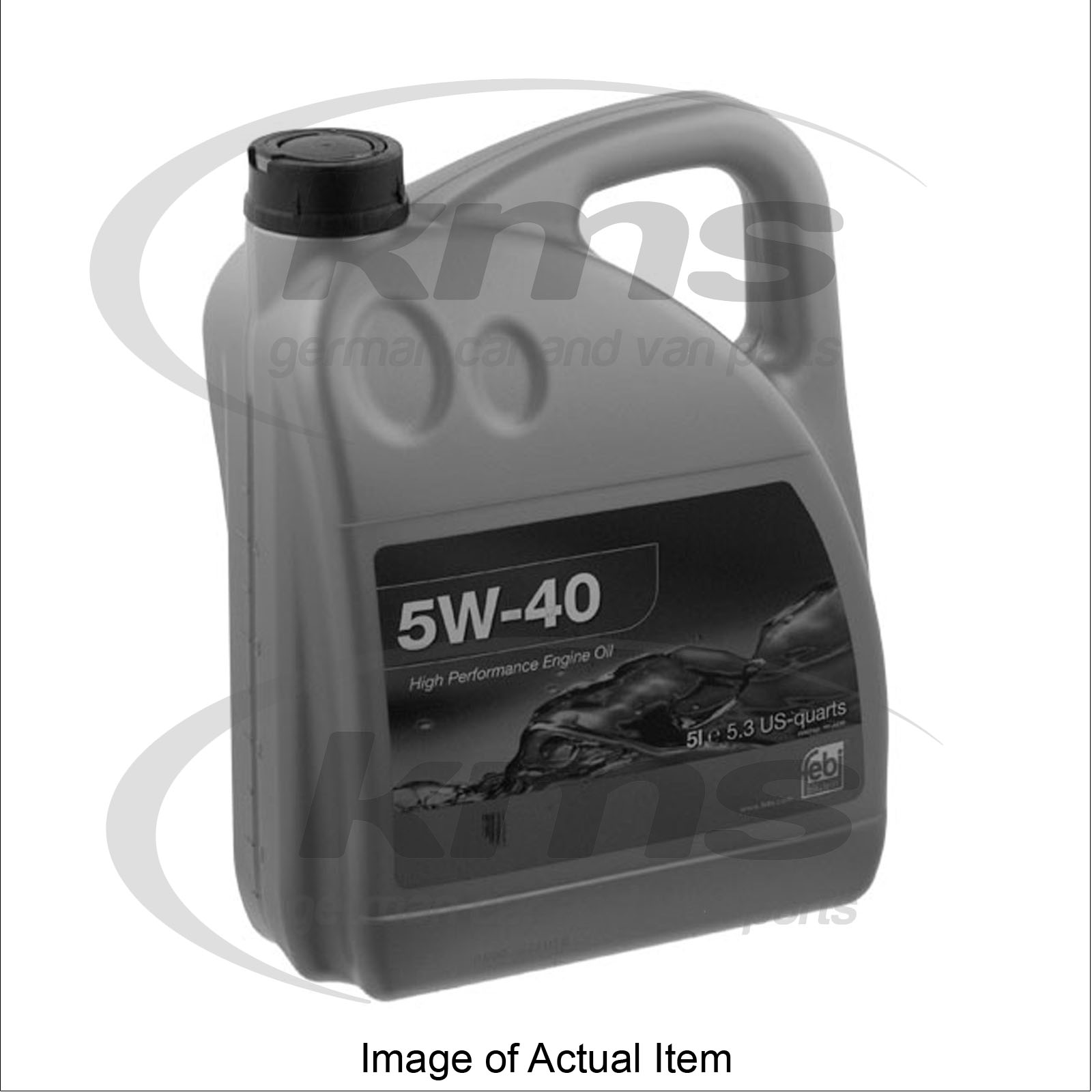 Engine Oil 5w 40 5 Litre Mercedes Benz Sprinter Van 313