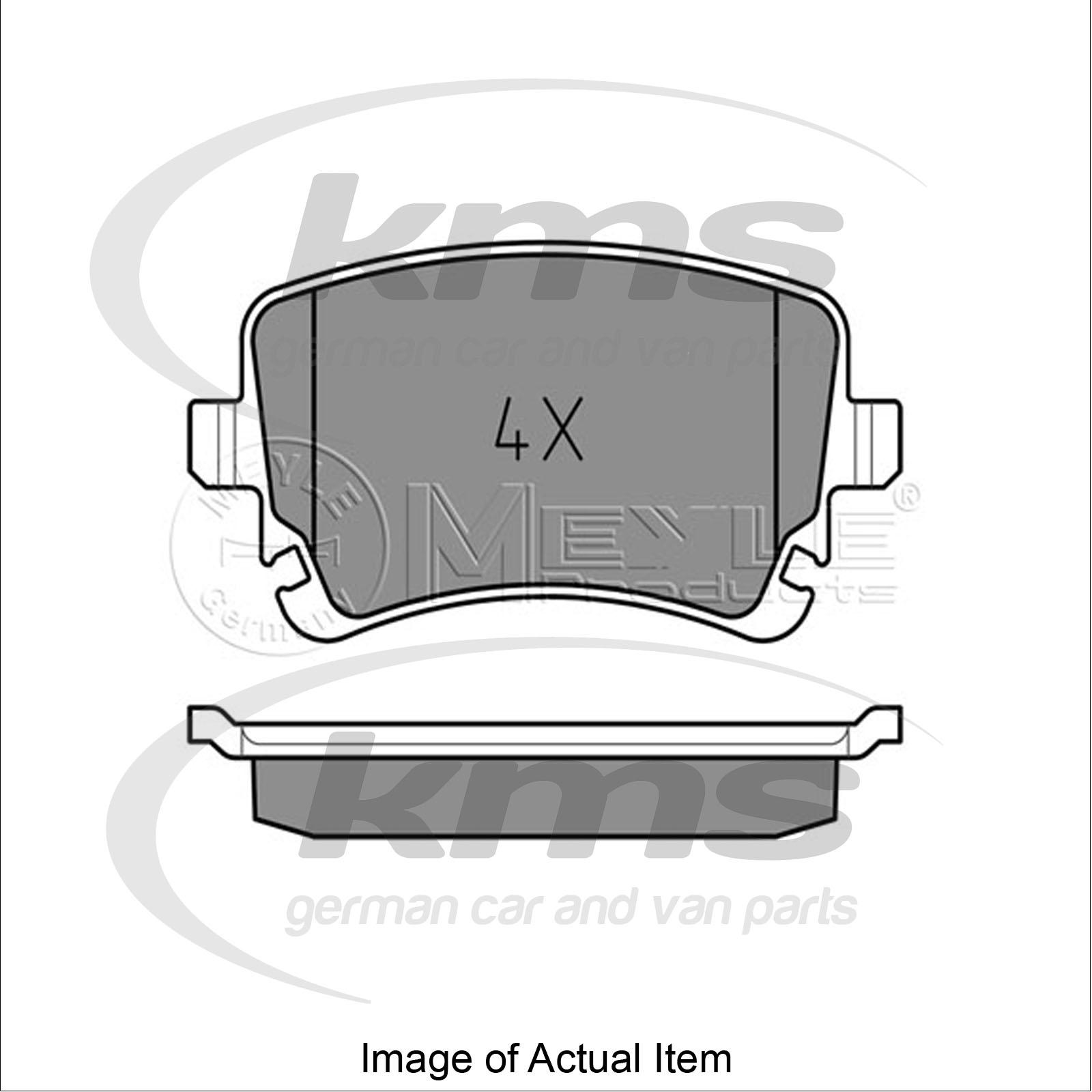 Brake Pad Set For Disc Brake Audi A6 Allroad 4fh C6 3 2 Fsi Quattro 255bhp To Ebay