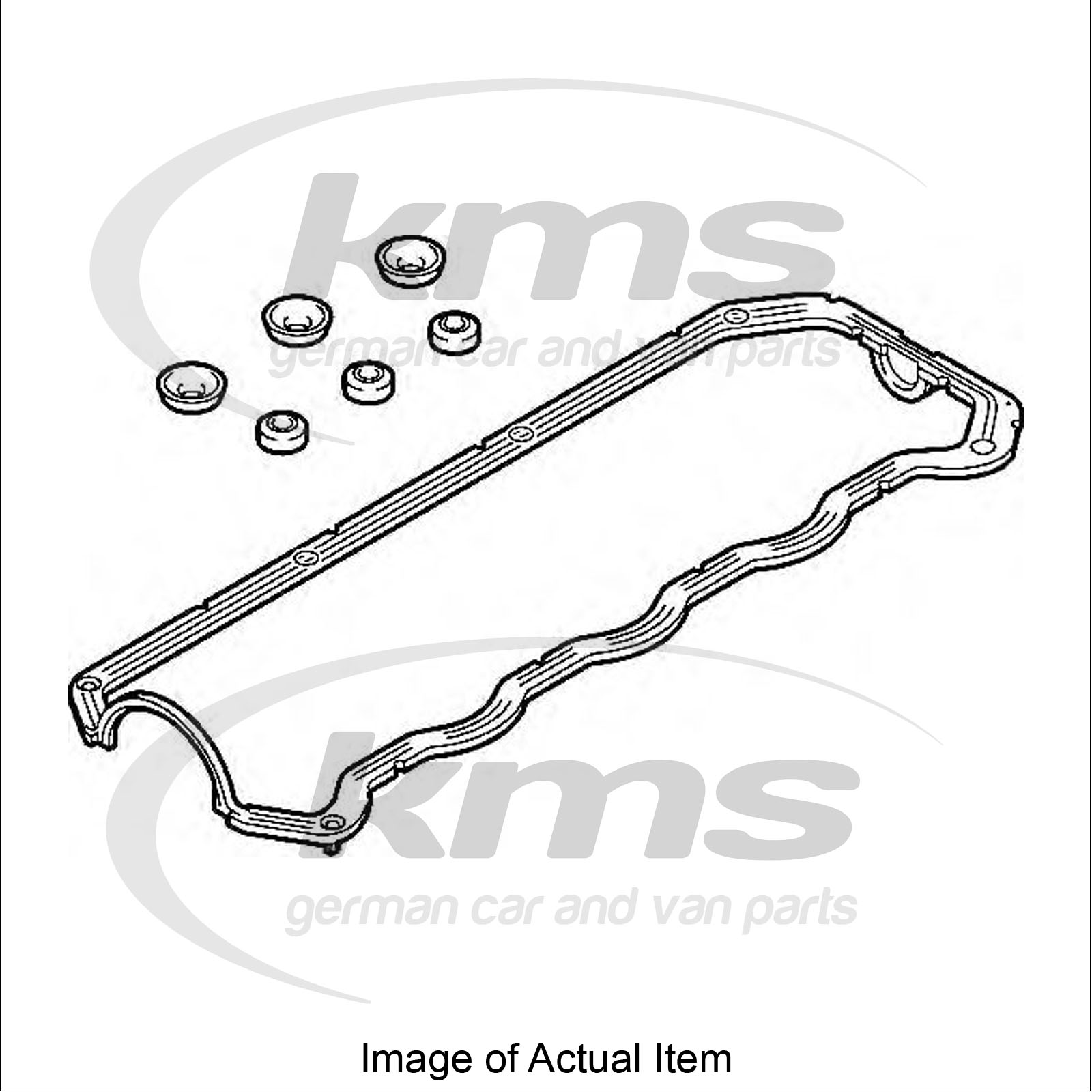 valve cover gasket vw polo 6n2 1 9 sdi hatchback 64 bhp top german quality ebay. Black Bedroom Furniture Sets. Home Design Ideas