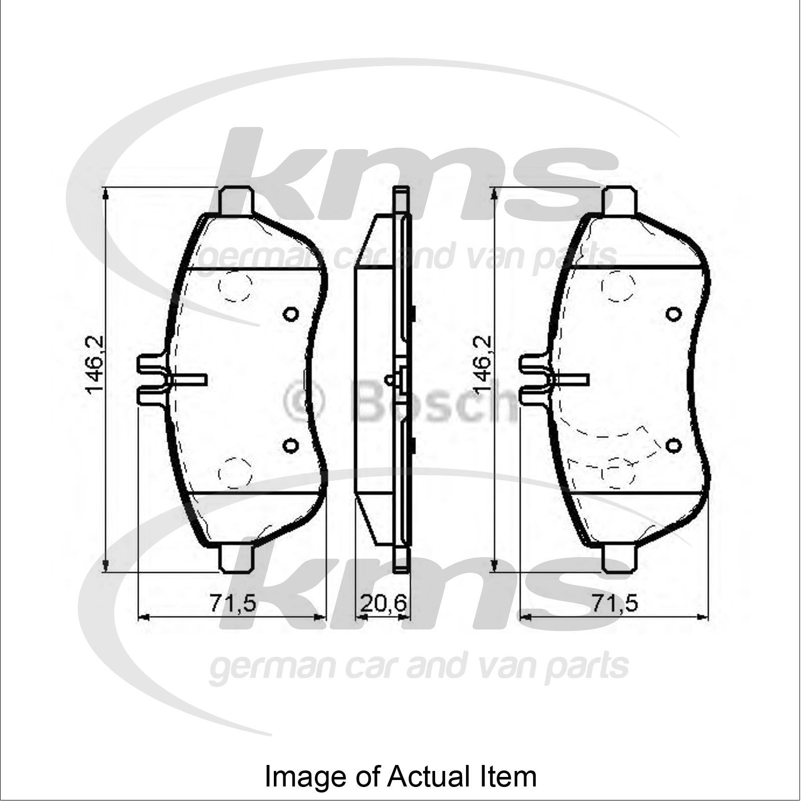 brake pad set for disc brake mercedes e