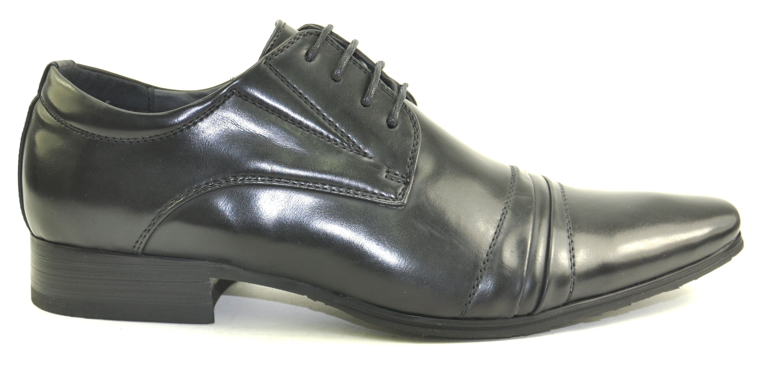 NEW MENS BLACK PATENT LACE UP FLAT FORMAL EVENING SMART OFFICE SHOES SIZE 7-13 | EBay