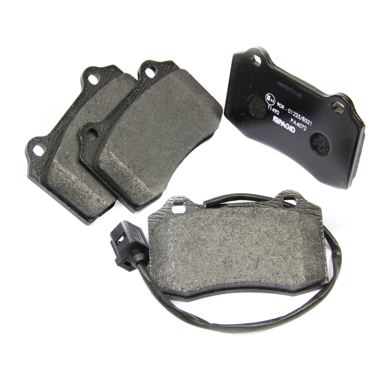 Lodal Front Axle Brake Shoes : Pagid front axle brake pad set pads t with
