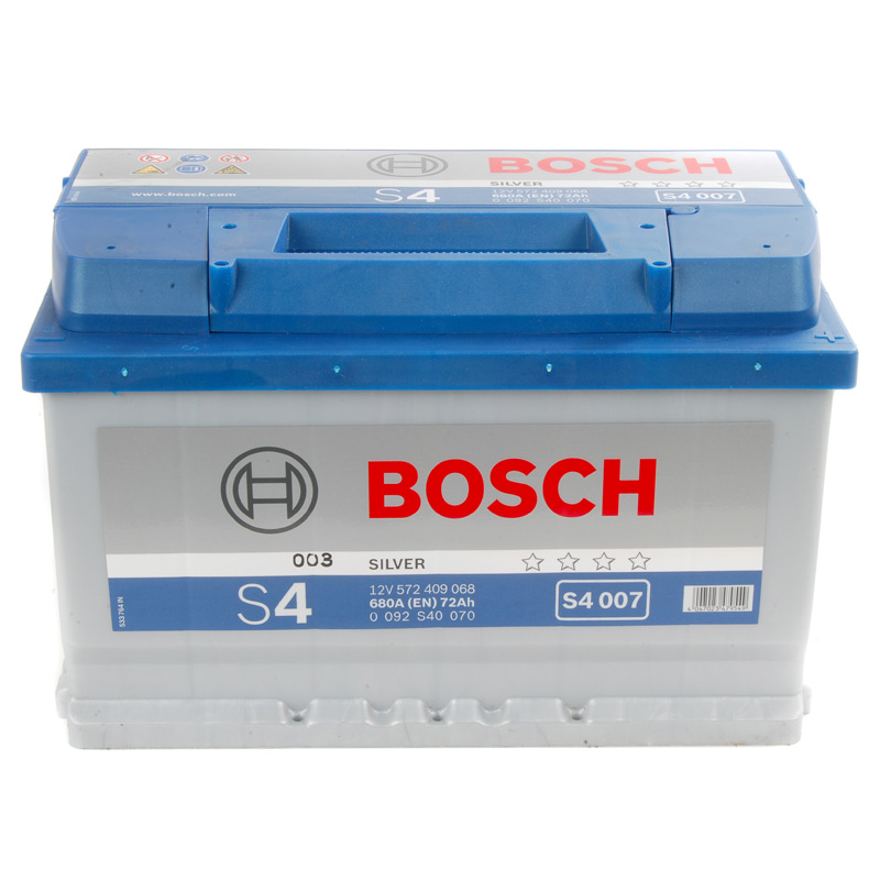 bosch s4 car battery type 096 100 with 4 year warranty. Black Bedroom Furniture Sets. Home Design Ideas