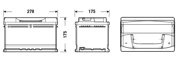 type 100 620cca sealed 3 years warranty lion batteries car battery 12v 70ah ebay. Black Bedroom Furniture Sets. Home Design Ideas