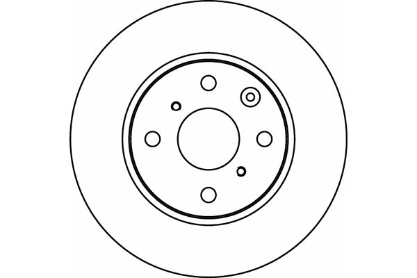 pagid 54419 front 247mm vented brake disc