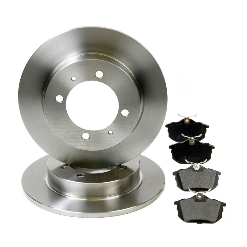 rear brake kit discs pads eicher volvo v40 s40 mitsubishi space star ebay. Black Bedroom Furniture Sets. Home Design Ideas