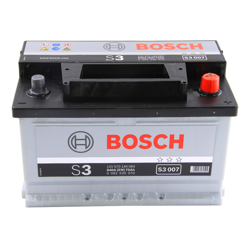 oem replacement bosch car battery 12v 70ah type 100 640cca 3 years wty sealed. Black Bedroom Furniture Sets. Home Design Ideas