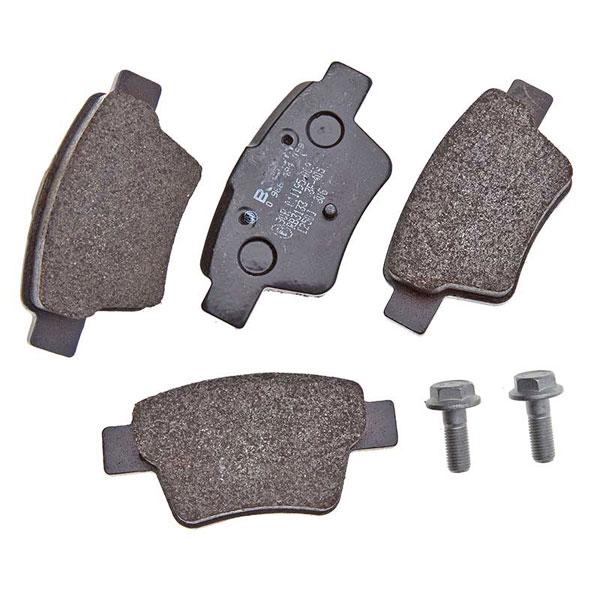 citroen c4 2 0 litres brembo rear brake pads set bosch braking system. Black Bedroom Furniture Sets. Home Design Ideas