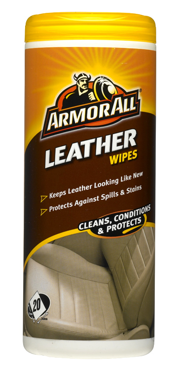 armor all leather wipes pack of 25 wipes interior car upholstery seats pouch ebay. Black Bedroom Furniture Sets. Home Design Ideas