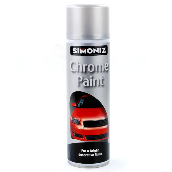 chrome paint 500ml aerosol high quality automotive car paint spray can. Black Bedroom Furniture Sets. Home Design Ideas