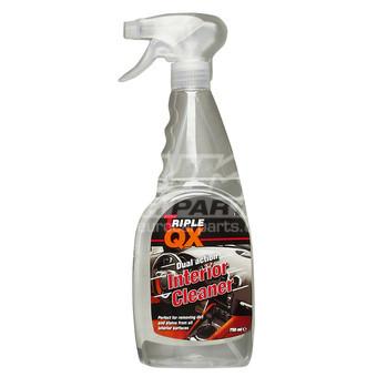 triple qx interior cleaner car auto cleaning dash trigger 750ml. Black Bedroom Furniture Sets. Home Design Ideas