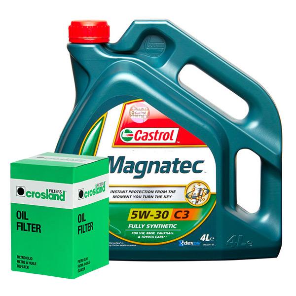 Castrol Magnatec 5w30 C3 Spec Engine Oil 4l And Oil