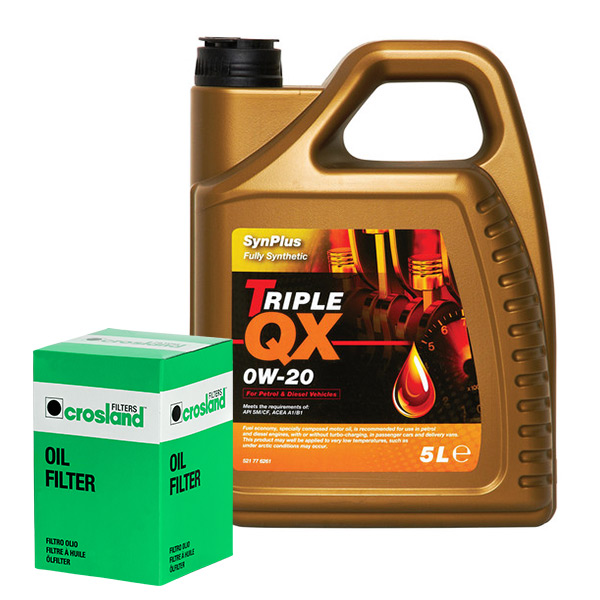 Oil Filter Service Kit With Triple Qx Fully Syntetic Plus