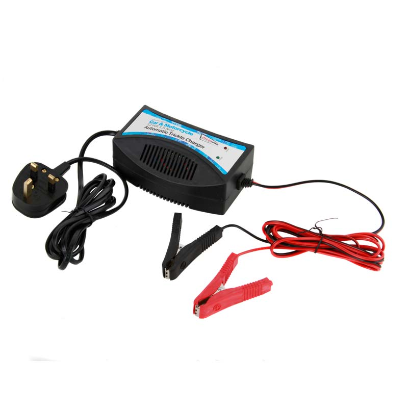 Small Car Battery : Streetwize v in car trickle battery charger for small