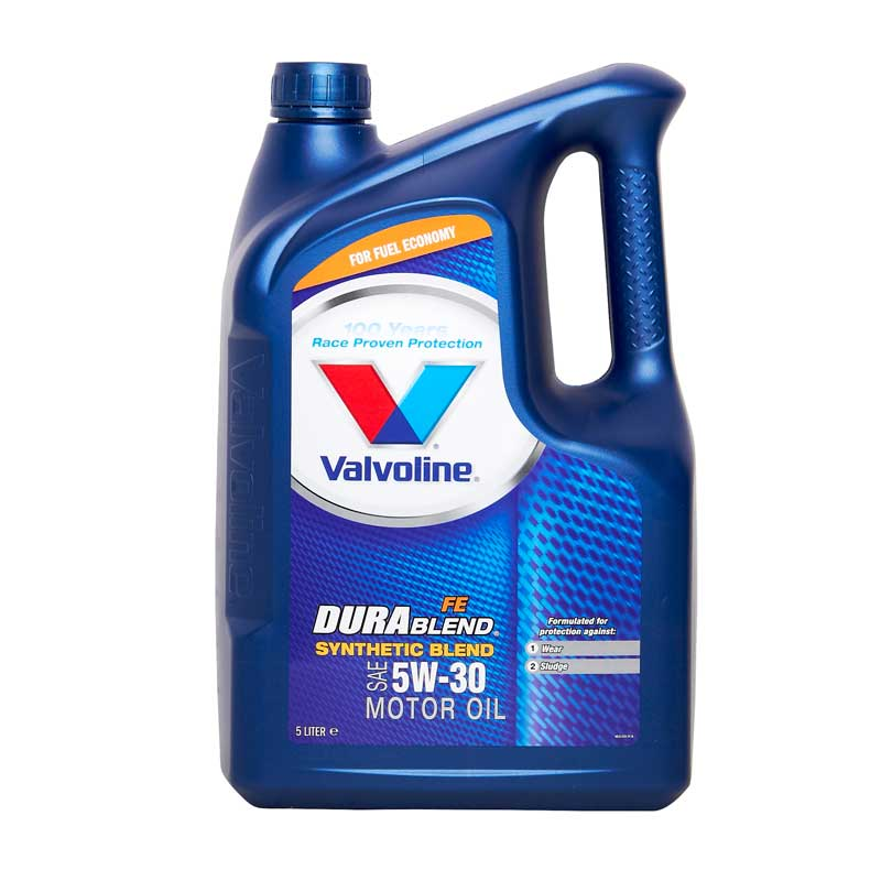 Valvoline durablend fe sae 5w30 part semi synthetic car for Semi synthetic motor oil
