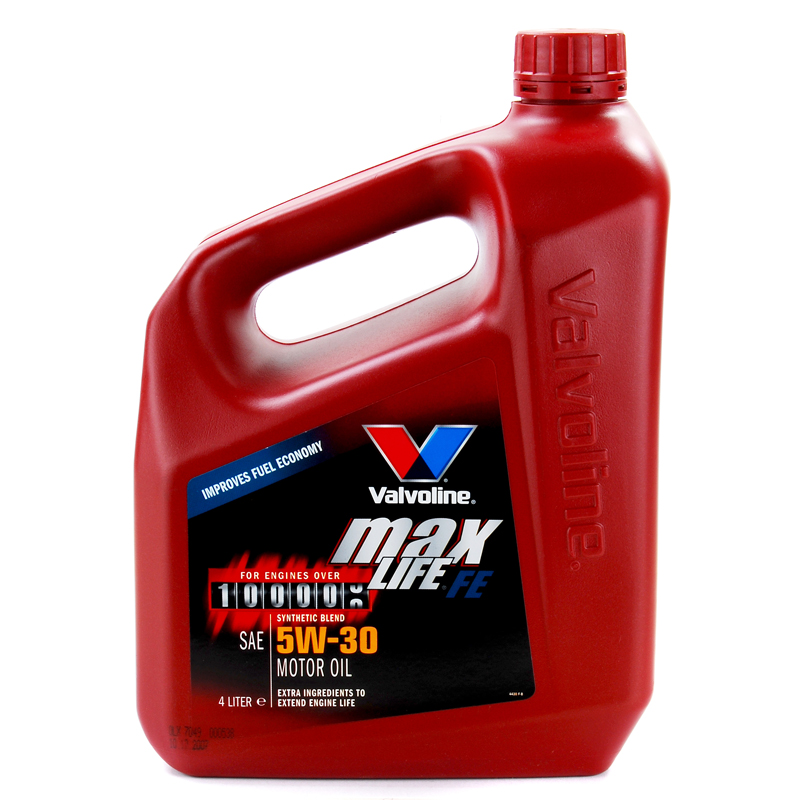 Valvoline maxlife fe sae 5w30 fully synthetic engine oil for Api motor oil guide