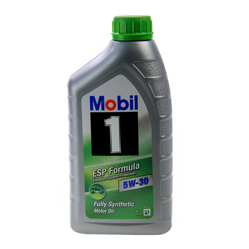 car engine oil mobil 1 esp sae 5w30 fully synthetic 1l low emission oil 1 litre ebay. Black Bedroom Furniture Sets. Home Design Ideas