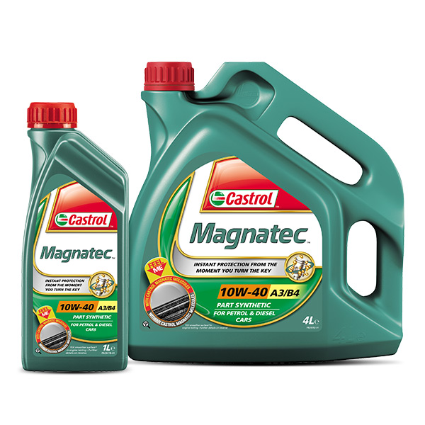 castrol magnatec 10w40 part synthetic car engine oil 4l. Black Bedroom Furniture Sets. Home Design Ideas