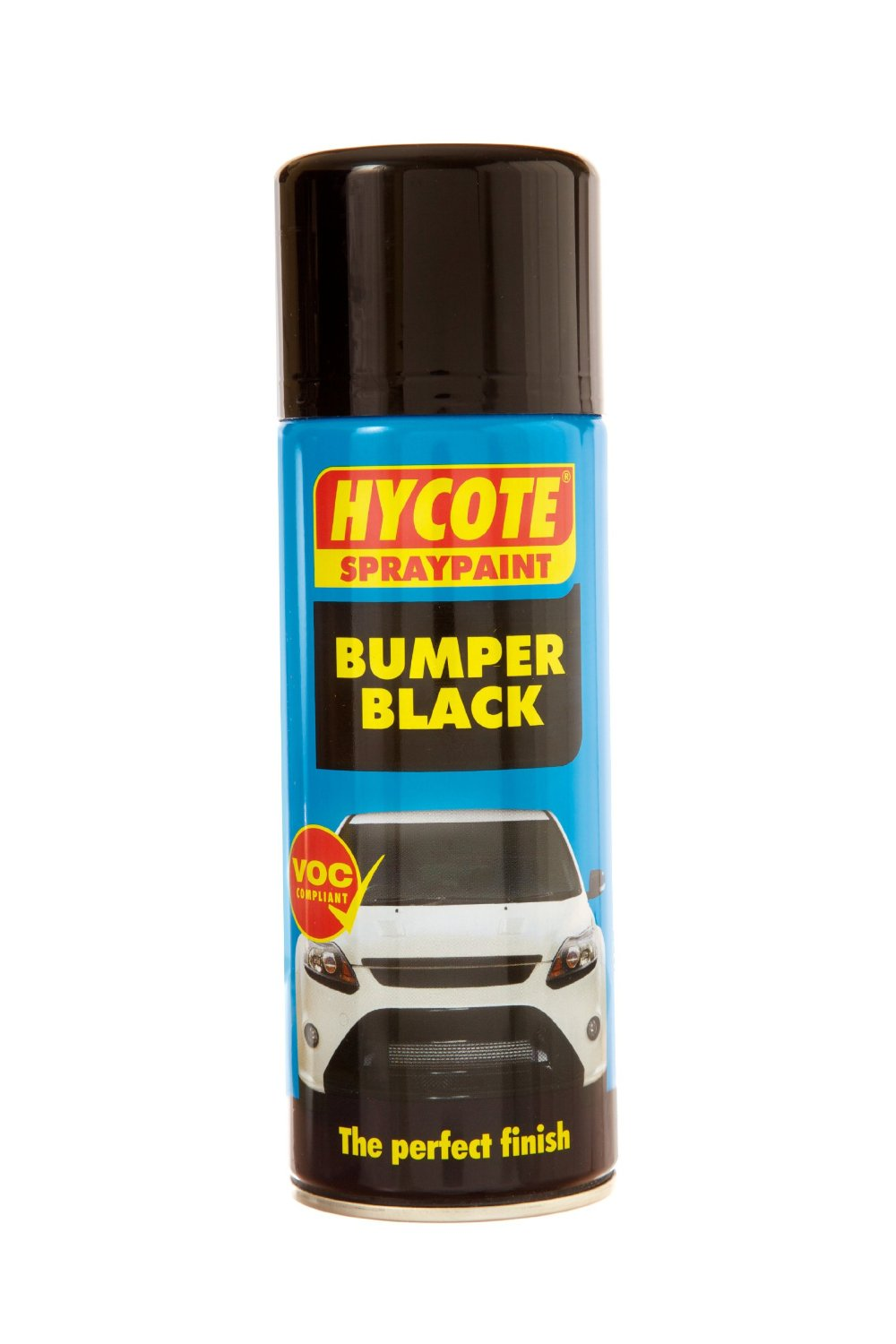 hycote bumper spray paint aerosol 400ml black garage equipment durable. Black Bedroom Furniture Sets. Home Design Ideas