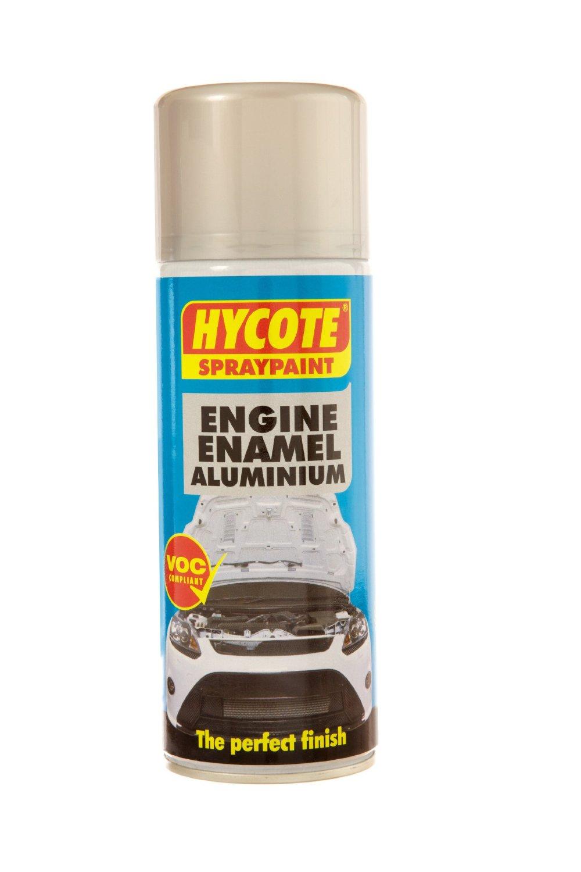 Hycote Engine Enamel Aluminium Spray Paint 400ml Tough Durable Finish Garage Ebay
