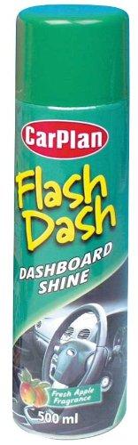 carplan flash dash dashboard car interior cleaner apple fragrance 500ml cleaning ebay. Black Bedroom Furniture Sets. Home Design Ideas