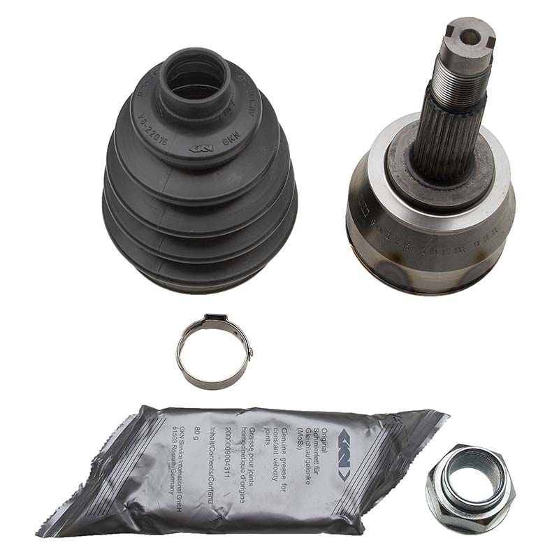 gkn outer driveshaft cv joint boot kit fiat doblo 119 01