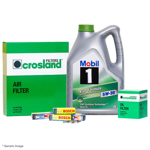 Oil Air Filter Service Kit With Mobil 1 Esp 5w30 Engine