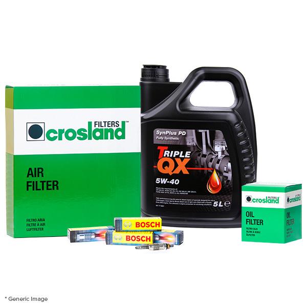 Oil Air Filter Service Kit With Triple Qx 5l Pd 5w40