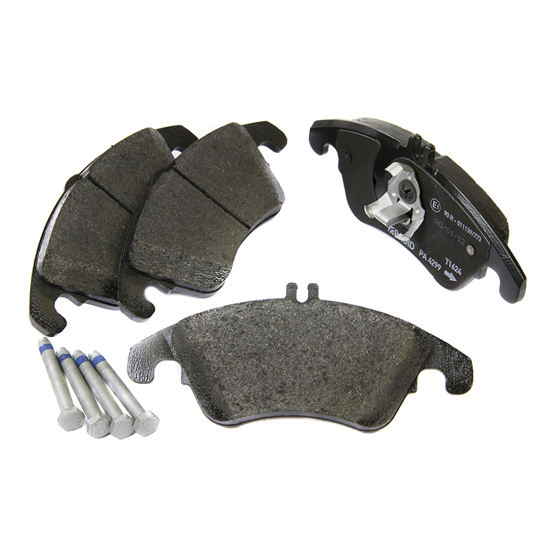 Pagid pad set t1624 front brake pads mercedes c class for Mercedes benz e350 brake pads replacement