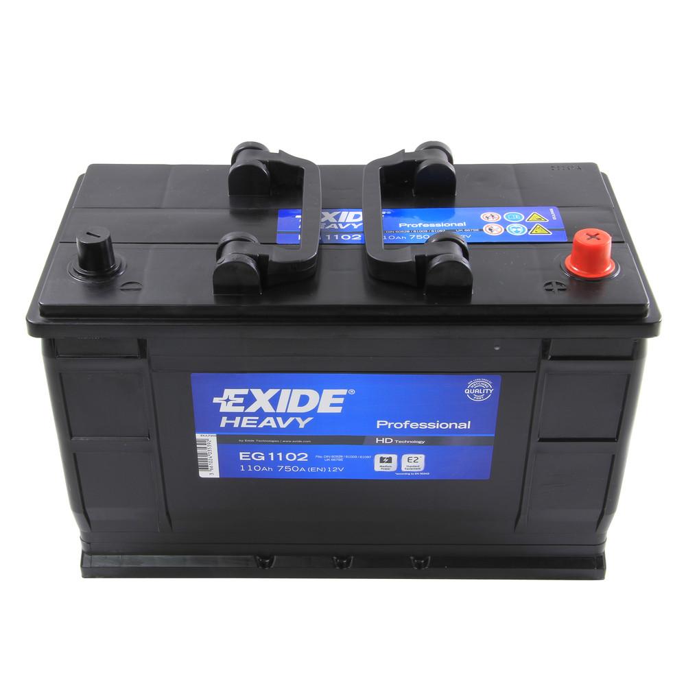 Type 667 Car Battery 750CCA Exide 110Ah 2 Yrs Warranty OEM