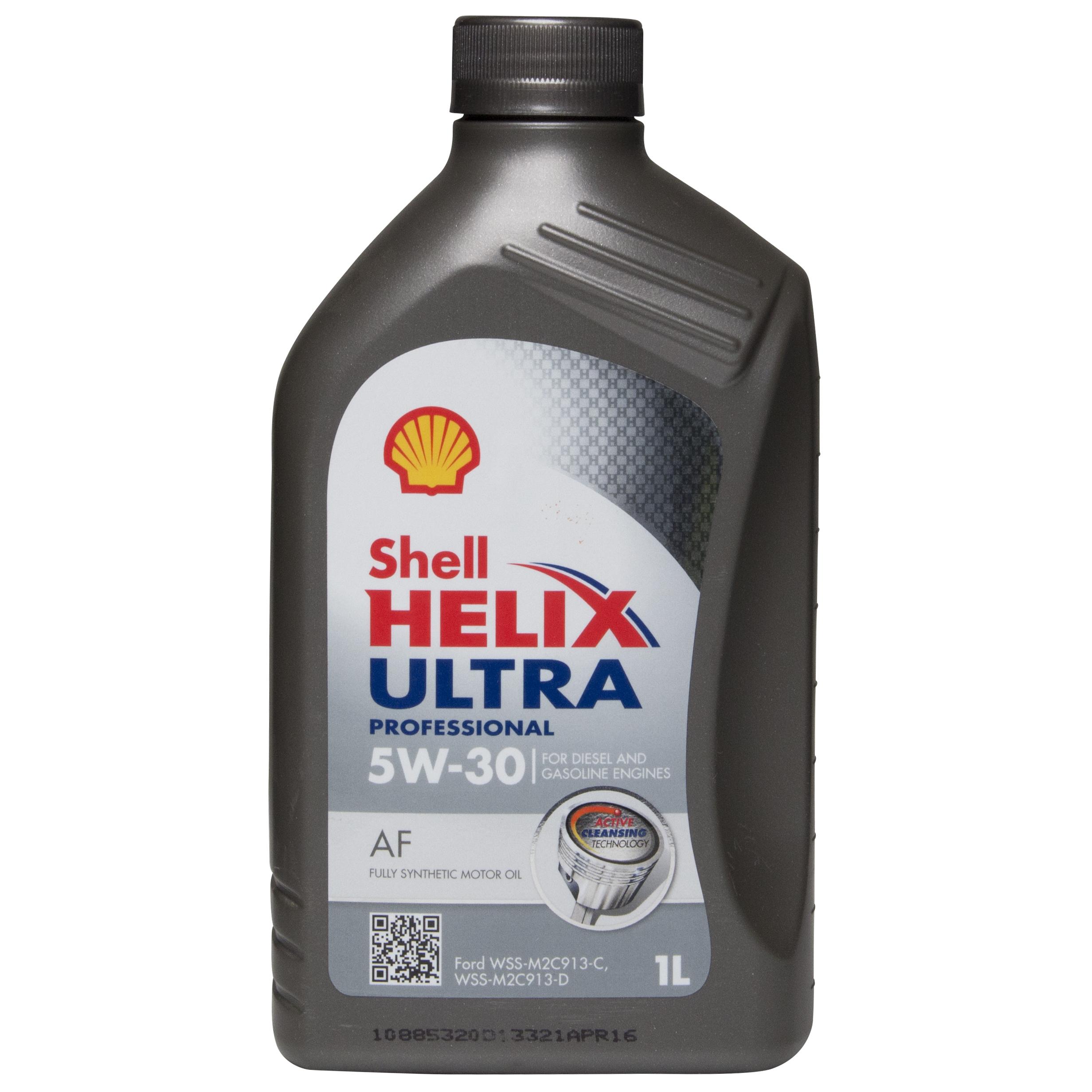 shell helix ultra professional af sae 5w30 1l car motor. Black Bedroom Furniture Sets. Home Design Ideas