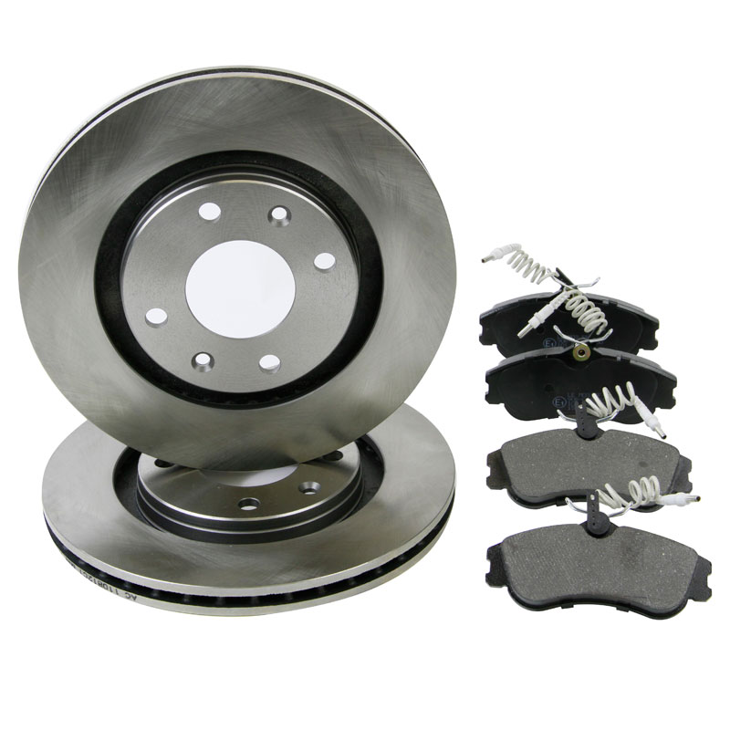 citroen xsara picasso 2 0 hdi 99 07 front brake kit discs pads eicher ebay. Black Bedroom Furniture Sets. Home Design Ideas