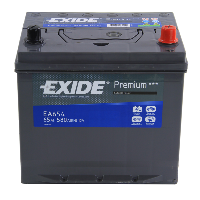 exide premium car battery 12v 65ah type 005 580cca 4 years wty oem replacement ebay. Black Bedroom Furniture Sets. Home Design Ideas