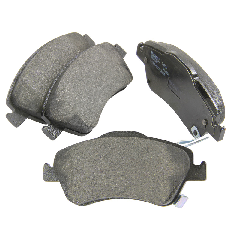 Lodal Front Axle Brake Shoes : Genuine pagid front and rear axle brake kit pad set