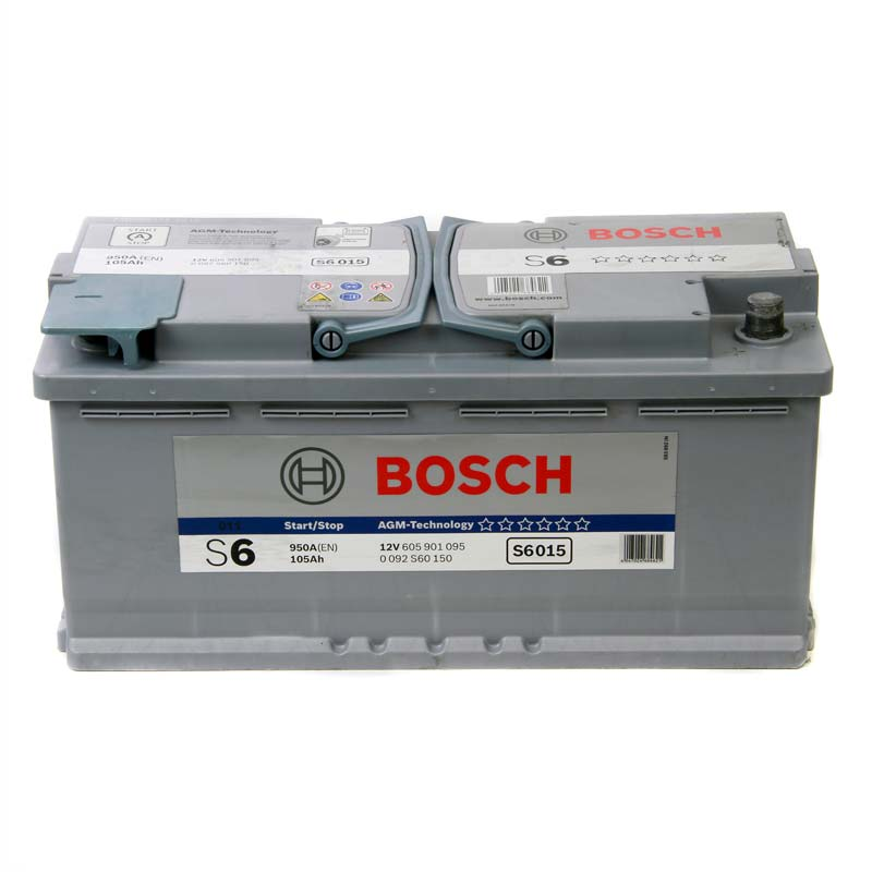 bosch s6 agm gel car battery type 020 with 3 year manufacturers warranty ebay. Black Bedroom Furniture Sets. Home Design Ideas