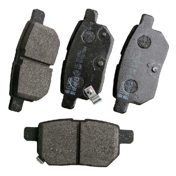 toyota auris 1 3 litres brembo rear brake pads set akebono braking system ebay. Black Bedroom Furniture Sets. Home Design Ideas