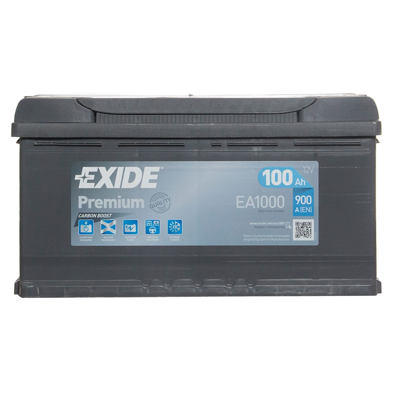 type 017 car battery 900cca 4 years wty exide premium 12v 100ah oem replacement ebay. Black Bedroom Furniture Sets. Home Design Ideas