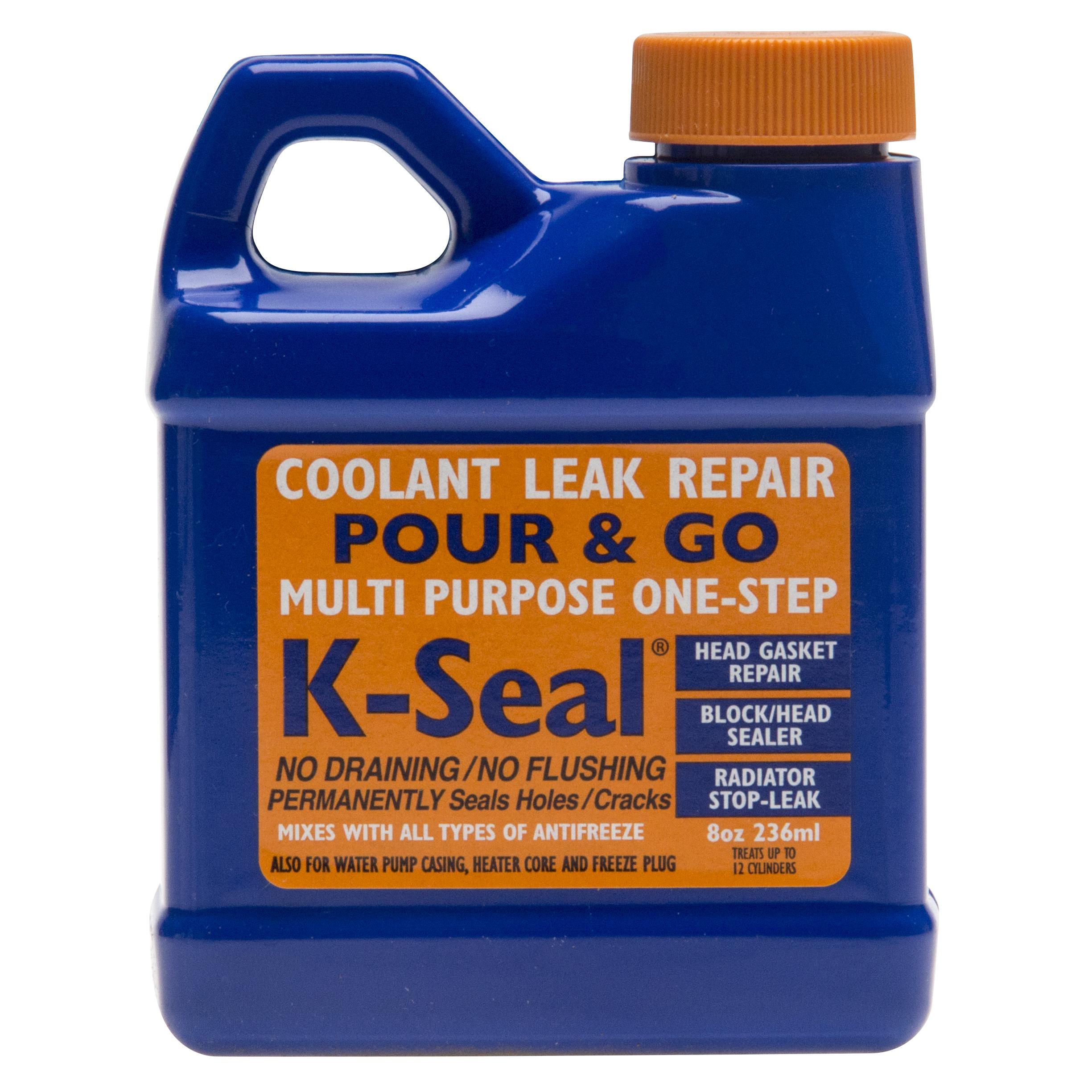 Pictures of K Seal Radiator Repair
