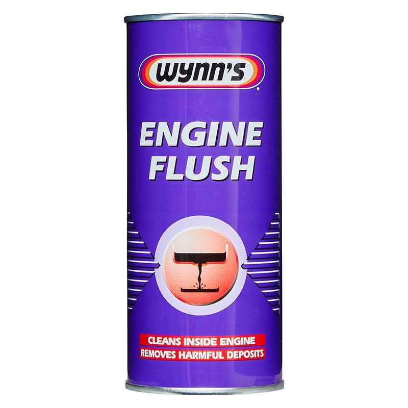 wynns  engine flush treatment ml removes harmful deposits oil flushing ebay